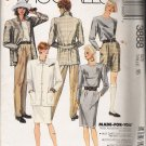 Misses' Jacket Top Skirt Pants Shorts Sewing Pattern Size 16 McCall's 3888 UNCUT
