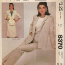 Misses' Jacket Belt Skirt Pants Sewing Pattern Size 16 McCall's 8370 UNCUT