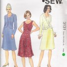 Misses' Dress & Jacket Sewing Pattern Size XS-XL Kwik Sew 3131 UNCUT
