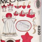 Vintage Sewing Pattern Christmas Decorations Super Pack McCall's 6320 UNCUT