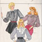 Vintage Sewing Pattern Misses' Blouse & Collars Size 12-16 Butterick 4550 UNCUT