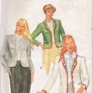 Vintage Sewing Pattern Misses' Jacket & Transfer Size 12 Butterick 4056 UNCUT