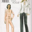 Misses' Jacket Camisole Pants Sewing Pattern Size 8-14 Vogue 8005 UNCUT