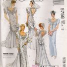 Misses' Bridal Gowns & Bridesmaids' Dress Sewing Pattern Size 12 McCall's 5758 UNCUT