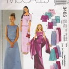 Girls' & Girls' Plus Tops Skirts Stole Sewing Pattern Size 10 1/2-16 1/2 McCall's 3465 UNCUT
