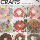 Holiday Wreaths Sewing Pattern McCall's 2084 UNCUT