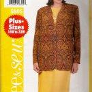 Women's Jacket & Dress Plus Size Sewing Pattern Size 22-26 Butterick 5805 UNCUT