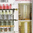 Tab Curtains Sewing Pattern Simplicity 7437 UNCUT