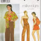Misses&#39; Jacket Pants Shorts Bag Top Sewing Pattern Size 10-14 Simplicity 8732 UNCUT