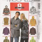 Misses' & Men's Unisex Jacket Sewing Pattern Size M McCall's 9581 UNCUT