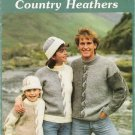 Country Heathers Vintage Knitting Pattern Book by Mary Maxim