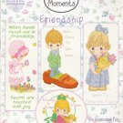 Precious Moments Friendship Cross Stitch Pattern Book by Gloria & Pat
