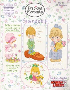 Precious Moments Friendship Cross Stitch Pattern Book by Gloria & Pat