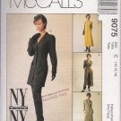 Misses' Jacket Dress Pants Sewing Pattern Size 10-14 McCall's 9075 UNCUT
