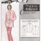 Misses' & Women's Elle Shirt & Pant Sewing Pattern Size XS-XXL The Sewing Workshop UNCUT