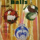 Beautiful Balls Bead & Sequin Christmas Ornaments by Design Originals