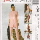 Misses' Shirt-Jacket Top Skirt Pants Sewing Pattern Size 12-18 McCall's 4081 UNCUT