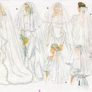 Bridal Veil Wedding Sewing Pattern One Size Butterick 4649 UNCUT