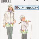 Mother And Daughter Fleece Coat & Hat Sewing Pattern Daisy Kingdom Simplicity 5946 UNCUT
