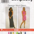 Misses' Knit Dress Sewing Pattern Size 10-14 Simplicity 8015 UNCUT