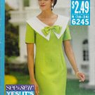 Misses' Dress Sewing Pattern Size 16-24 Butterick See & Sew 6245 UNCUT