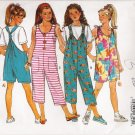 Girls' Jumpsuit Sewing Pattern Size S-L Butterick 6810 UNCUT