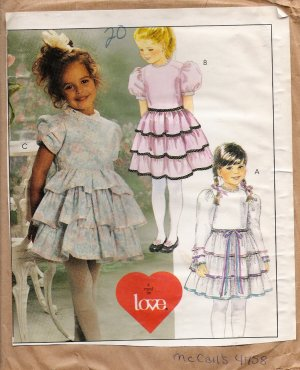 CHILDREN'S SEWING PATTERNS