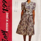 Misses' Two-Piece Dress Sewing Pattern Size 8-14 McCall's 5789 UNCUT