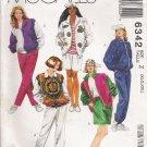Misses' Jacket Pants Shorts Sewing Pattern Size XL-XXL McCall's 6342 UNCUT