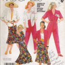 Misses' Shirt Skirt Pants Sewing Pattern Size 12 McCall's 2316 UNCUT