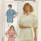 Misses' Shirt Sewing Pattern Size 8-12 Simplicity 8129 UNCUT
