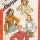 Misses' Asymmetrical Top Sewing Pattern Size 14 Simplicity 5645 UNCUT