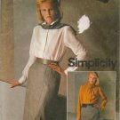 Misses' Bias Skirt Sewing Pattern Size 12 Simplicity 6585 UNCUT