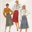 Misses' Front Wrap Skirt Sewing Pattern Size 12 Simplicity 6698 UNCUT