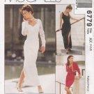 Misses' Bolero & Dress Sewing Pattern Size 4-8 McCall's 6779 UNCUT