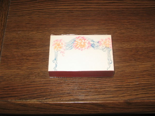 Floral Border Wood Mounted Rubber Stamp by Stampendous