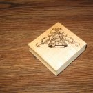 Wedding Bell Wood Mounted Rubber Stamp by Graphic Rubber Stamp