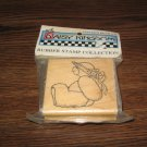 Teddy Bear Wood Mounted Rubber Stamp by Daisy Kingdom