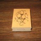 Birthday Balloons Wood Mounted Rubber Stamp by Art Impressions