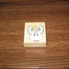 Angel Wood Mounted Rubber Stamp by Hero Arts