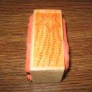 Star & Smoke Stream Wood Mounted Rubber Stamp