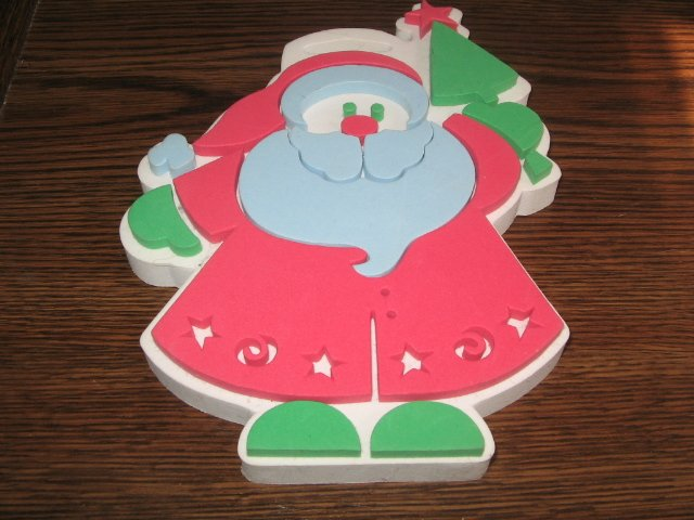 Big Santa Claus Foam Mounted Rubber Stamp by Duncan Enterprises