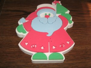 Big Santa Claus Foam Mounted Rubber Stamp by Duncan Enterprises