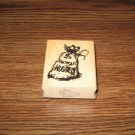 Bag Of Gold Nuggets Wood Mounted Rubber Stamp by Art Impressions