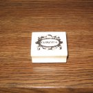 Europa Wood Mounted Rubber Stamp by Art Impressions