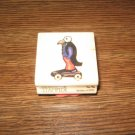 Penguin Pull-Toy Wood Mounted Rubber Stamp by Rubber Stampede