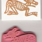 Southwestern Animal Unmounted Rubber Stamp