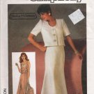 Misses' Camisole Skirt Jacket Sewing Pattern Size 12 Simplicity 6783 UNCUT