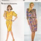 Misses' Dress & Tie Belt Sewing Pattern Size 10-18 Simplicity 9913 UNCUT