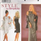 Misses' Dress Top Skirt Wrap Sewing Pattern Size 6-16 Simplicity 8840 UNCUT